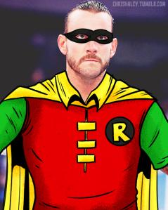 CM Punk as Robin