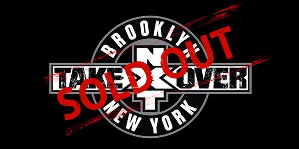 NXT Takeover Sold Out