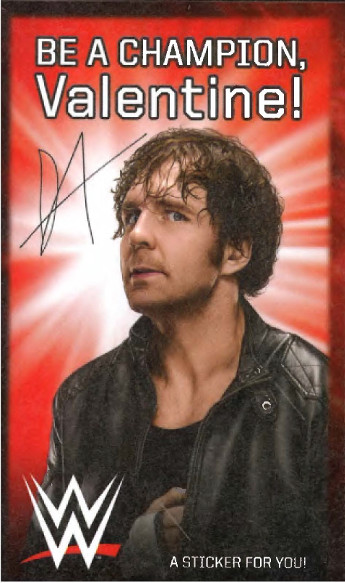 3MB_VDay2016_DeanAmbrose If You Got A Dean Ambrose Valentine: